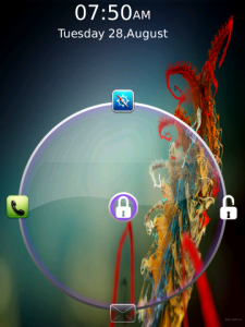 Jelly bean lock app for blackberry