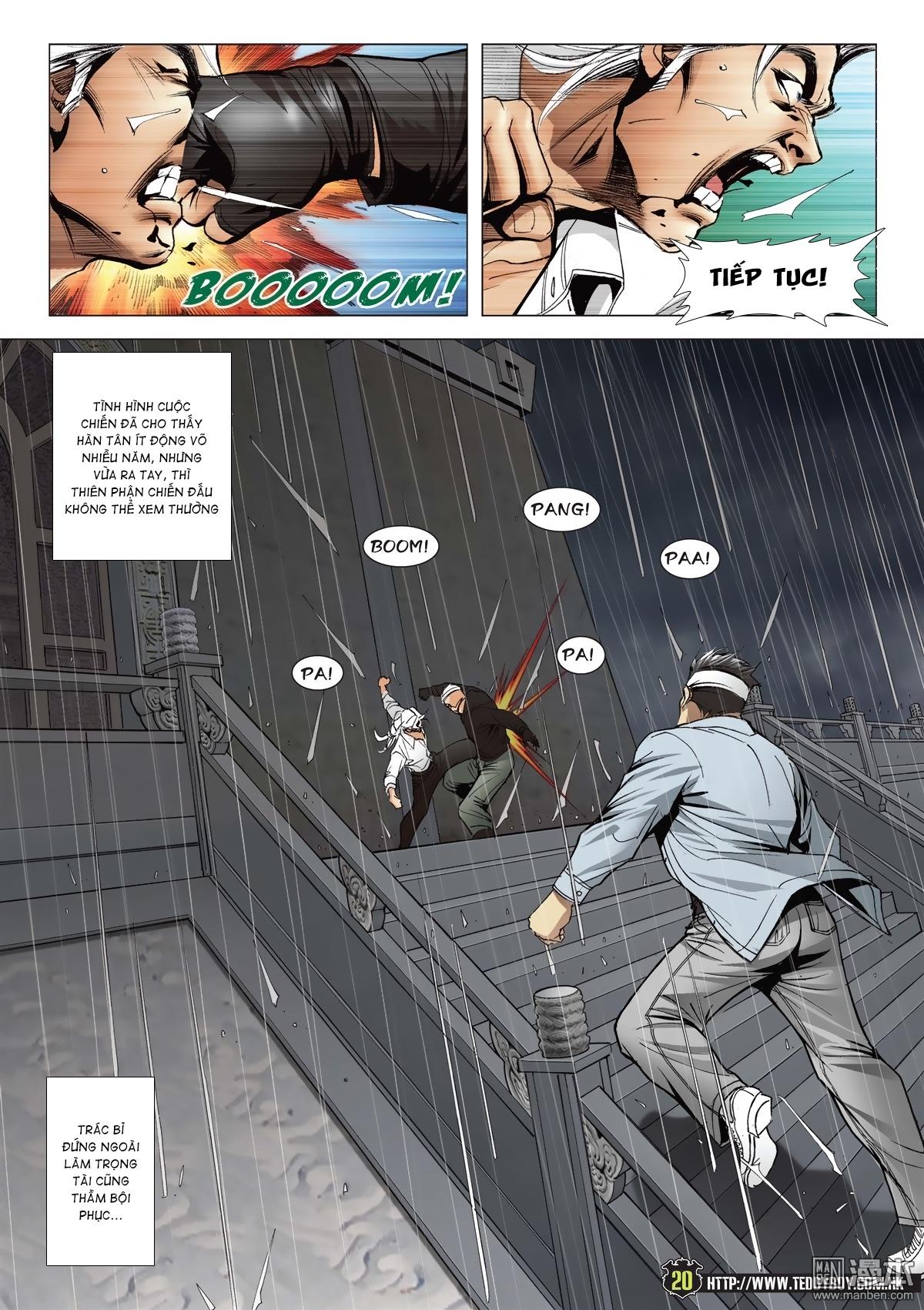 Người Trong Giang Hồ chapter 2052: hàn tân chiến thiên thu 3 trang 19
