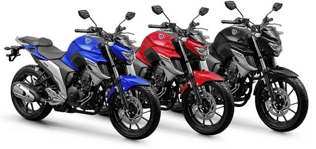 Nova Yamaha Fazer 250 ABS 2020
