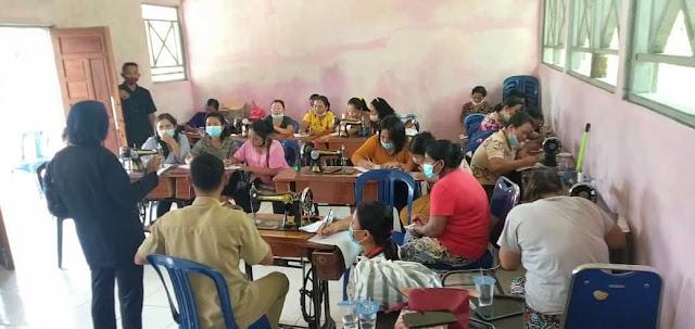 Usulan Warga ke DPRD Gumas, Direalisasi Belajar Menjahit