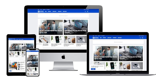 GNews Mẫu Blogger Premium Responsive Free Download