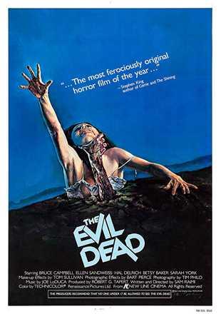 The Evil Dead 1981 BRRip 720p Dual Audio In Hindi English