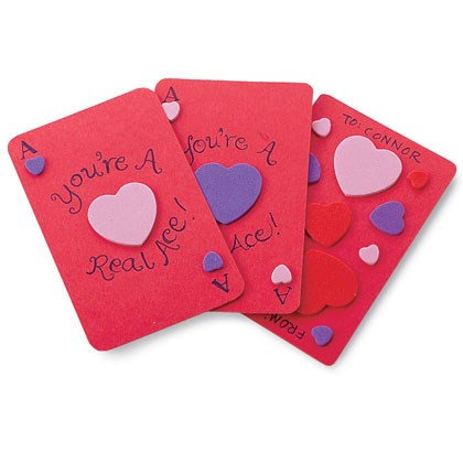 Valentine Card: Ace of Hearts