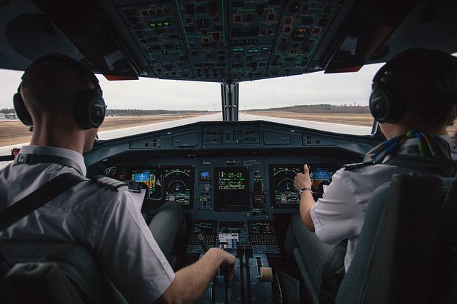 Cara Pilot Mencari Jalan di Udara