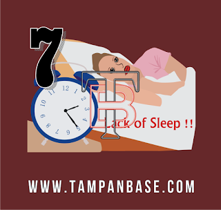 7 Dampak Yang Di Akibatkan Saat Kekurangan Tidur by tampanbase.com