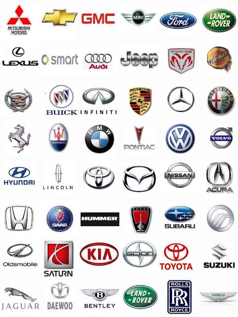 Marcas de carros de todo el mundo logos
