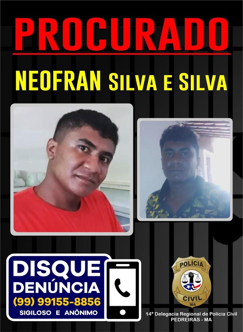 Polícia Civil divulga foto do homem acusado de matar mototaxista em Pedreiras.