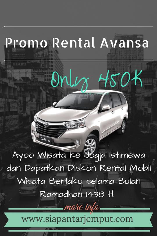 Spesial Promo Rental Mobil Wisata Ramadhan 1438 H