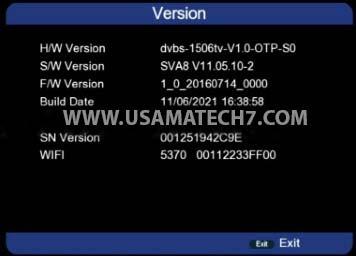 1506TV SVA8 New Built In Wifi Software Download