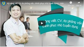 Download miễn phí khóa học Bí quyết viết CV - Dự phỏng vấn