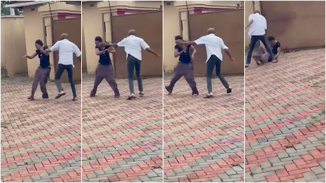 Zimbabwe Bank CEO takes leave of absence after a video of him went viral beating his wife (video)