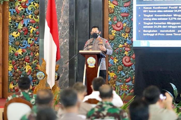 Panglima TNI dan Kapolri Berikan Semangat Petugas dalam Penanganan Covid-19 di Bangkalan