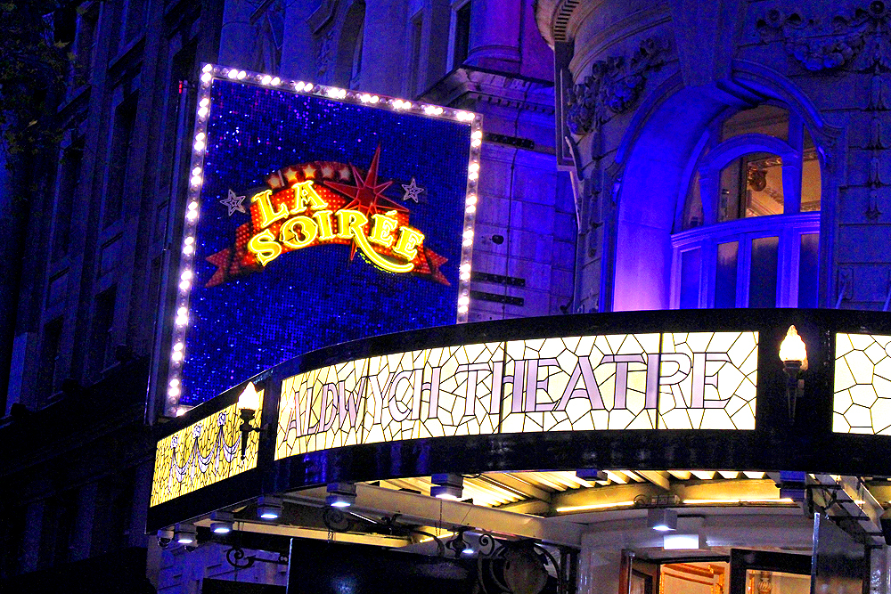 La Soiree show at the Aldwych Theatre - London lifestyle blog