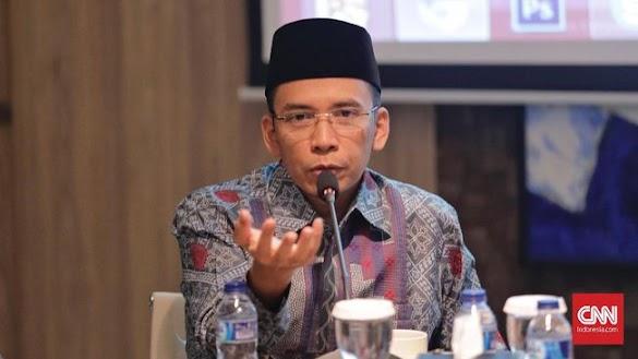 TGB Akhirnya Akui Siap Jadi Cawapres Jokowi