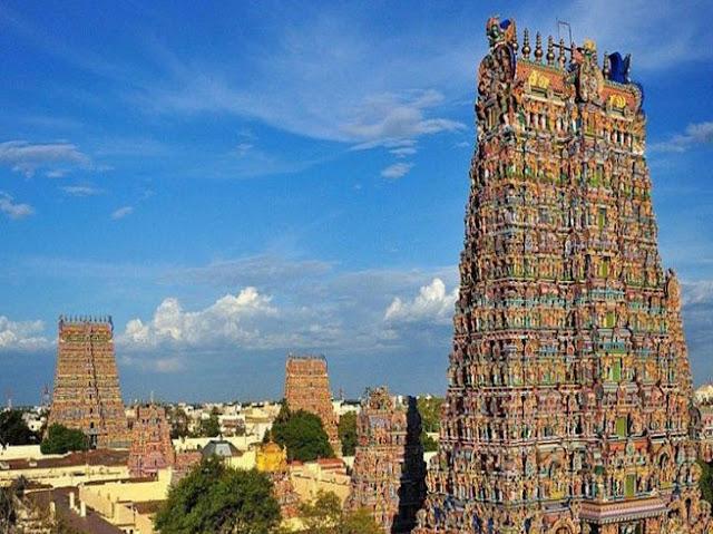 मदुरई यात्रा की  सम्पूर्ण जानकारी - Madurai Ka Meenakshi Mandir in Hindi