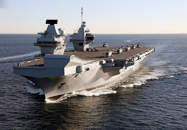 DEFENCE: China threatens UK with military action over operational deployment