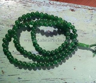 Tasbih Batu Giok Jadeite Jade - ZP 1063