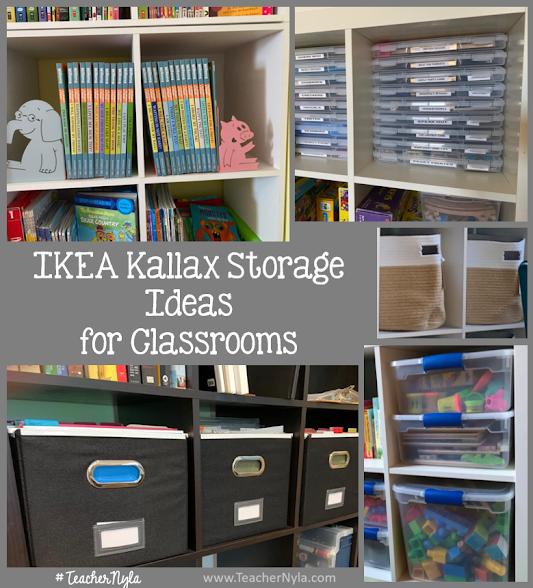 IKEA Storage Ideas for the Classroom