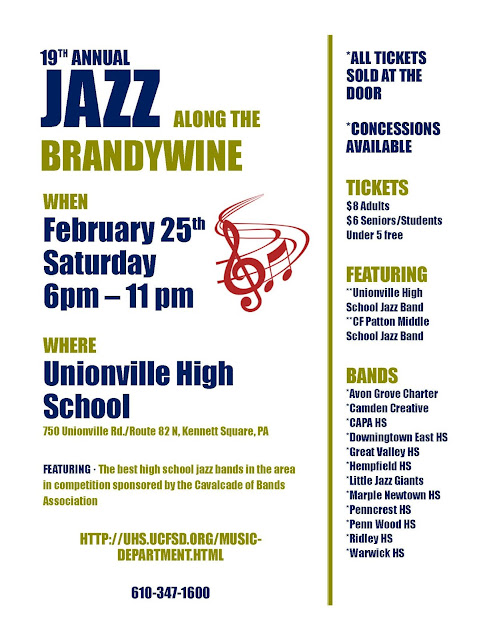 Jazz Along The Brandywine Flyer