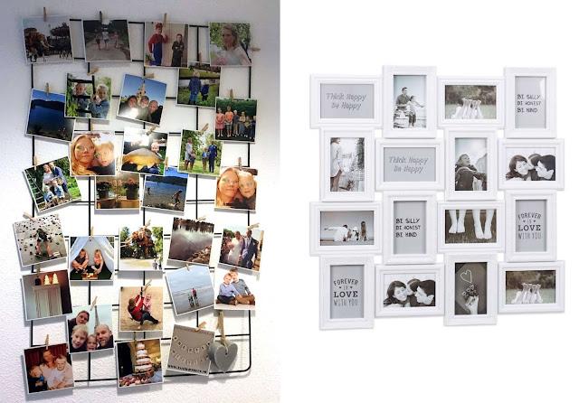 Valentijnsdag Foto Collage rek