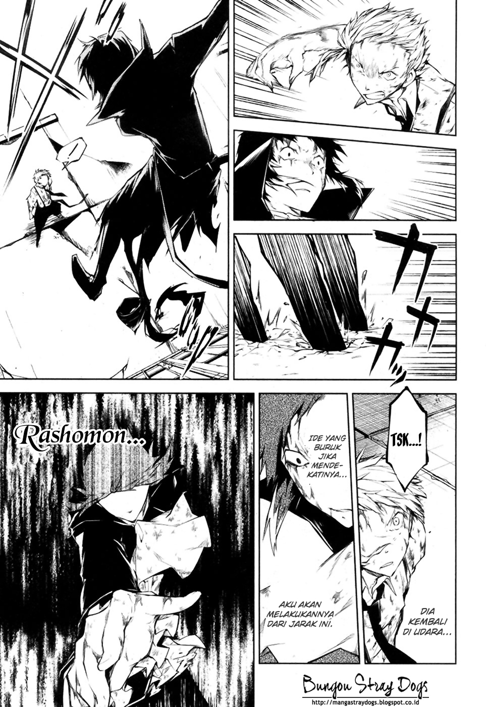 Bungou Stray Dogs Chapter 12-39