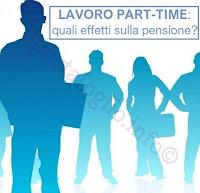 effetti sulla pensione del lavoro part-time