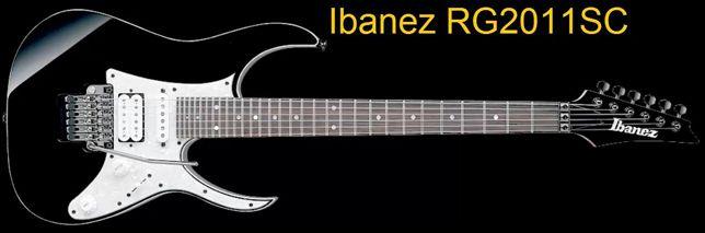 Guitarra con 30 Trastes Ibanez Rg2011SC