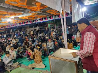 सीएए और एनआरसी के विरोध प्रदर्शन में शामिल हुई मेघा पाटकर और विधायक डॉ अलावा