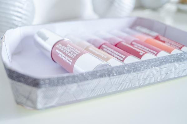 DIY Make-up Storage