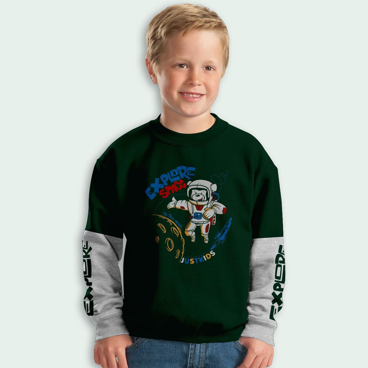 SWEETER PJG JUST KIDS (EXPLORE) (ANKL00019)