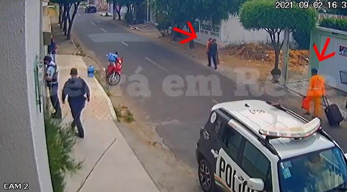 Sobral: Bandidos disfarçados de garis invadem casa de empresário e acabam presos