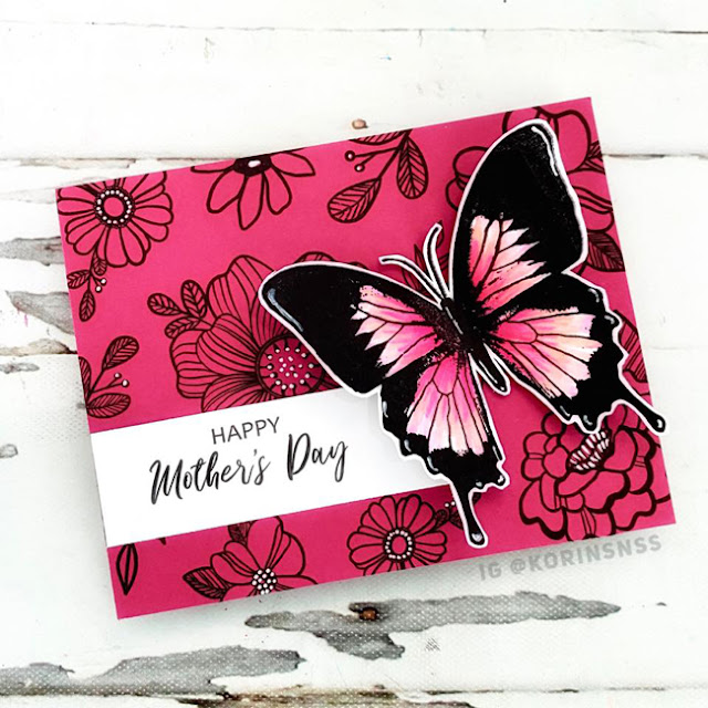 Mother's Day card by Korin Sutherland
