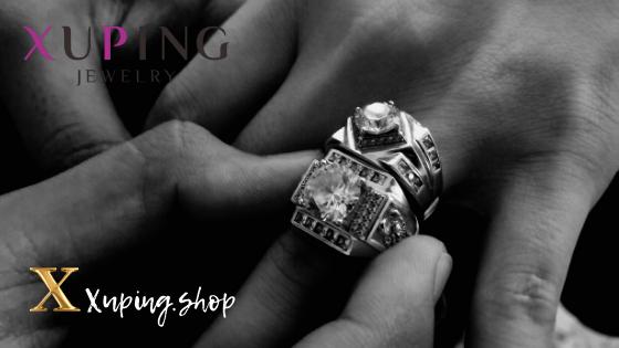 Купить мужские перстни Xuping Jewelry в интернет-магазине Xuping.shop. Перстни мужские позолота. Медицинское золото. Ювелирная бижутерия Хьюпинг.