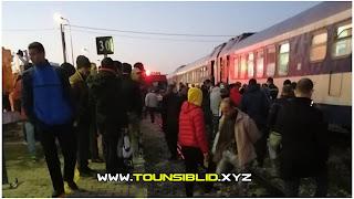 (بالفيديو) سوسة: مواطن ينتحر عبر القاء نفسه تحت عجلات القطار