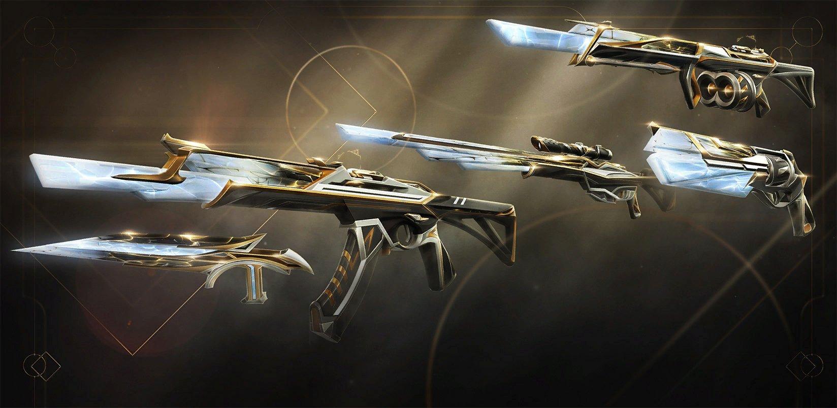 valorant new skins sentinels of light