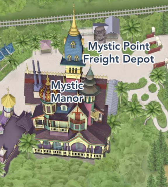 Mystic Point Hong Hong Disneyland App