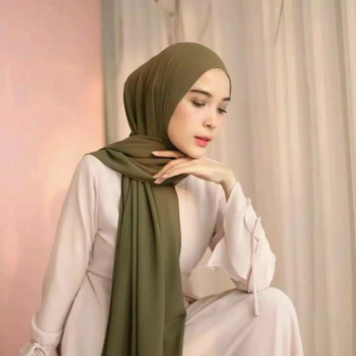 Jilbab Pasmina Diamond Terbaru - Hijab Syari Modis Murah