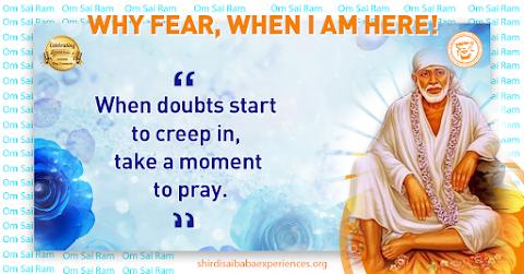 Doubts - Sai Baba Dwarkamai Pose Painting Image