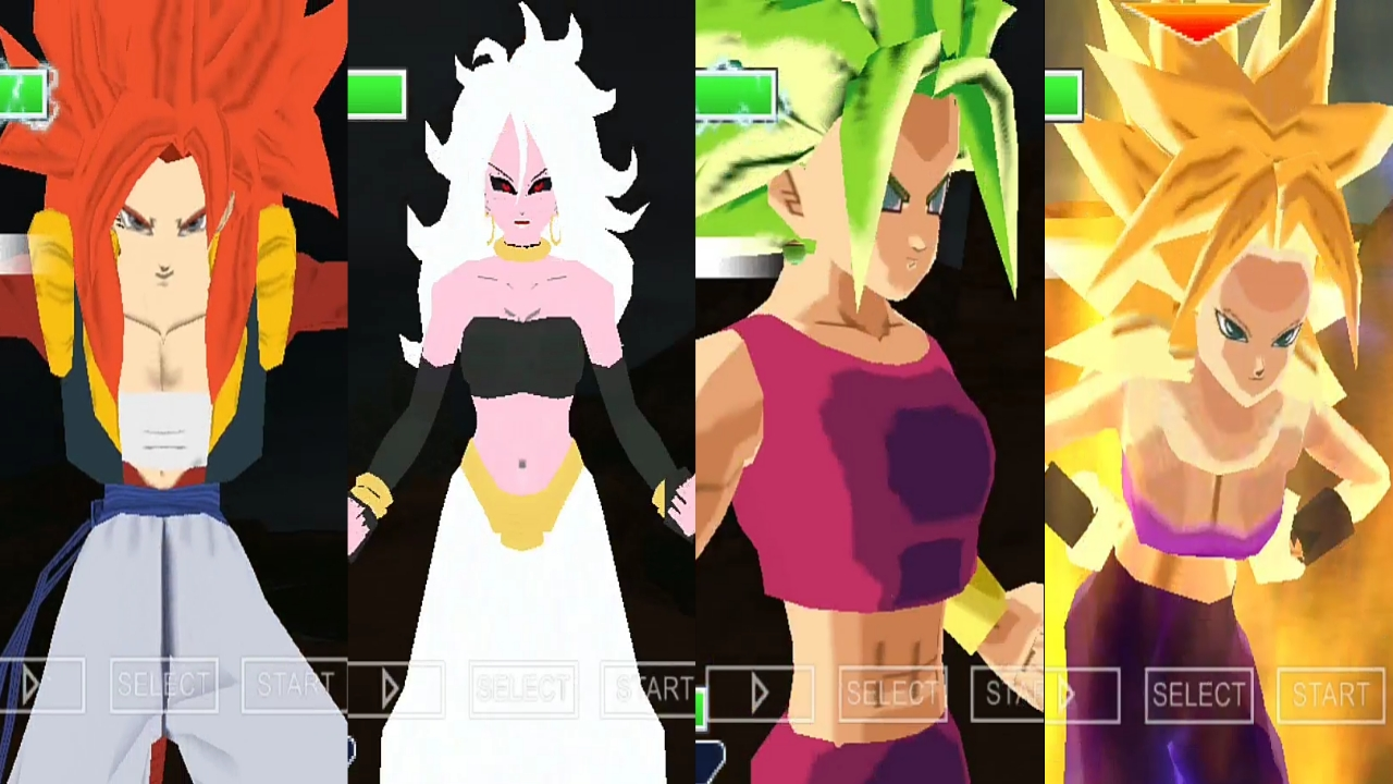 Dragon Ball Super Female Characters