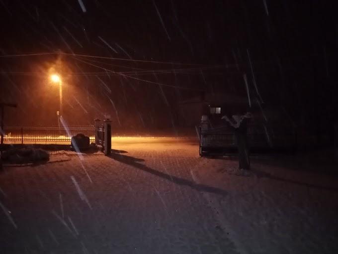 Φωτογραφίες δείτε χιόνι στην Ραχια του Δήμου Βέροιας