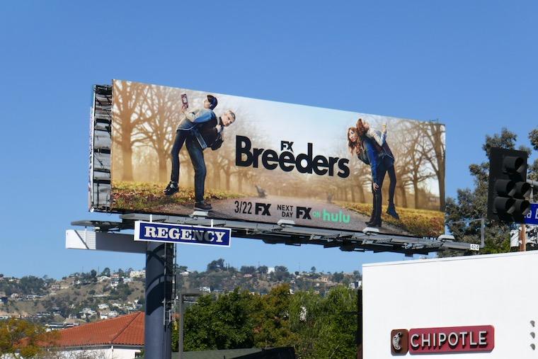 Breeders season 2 billboard