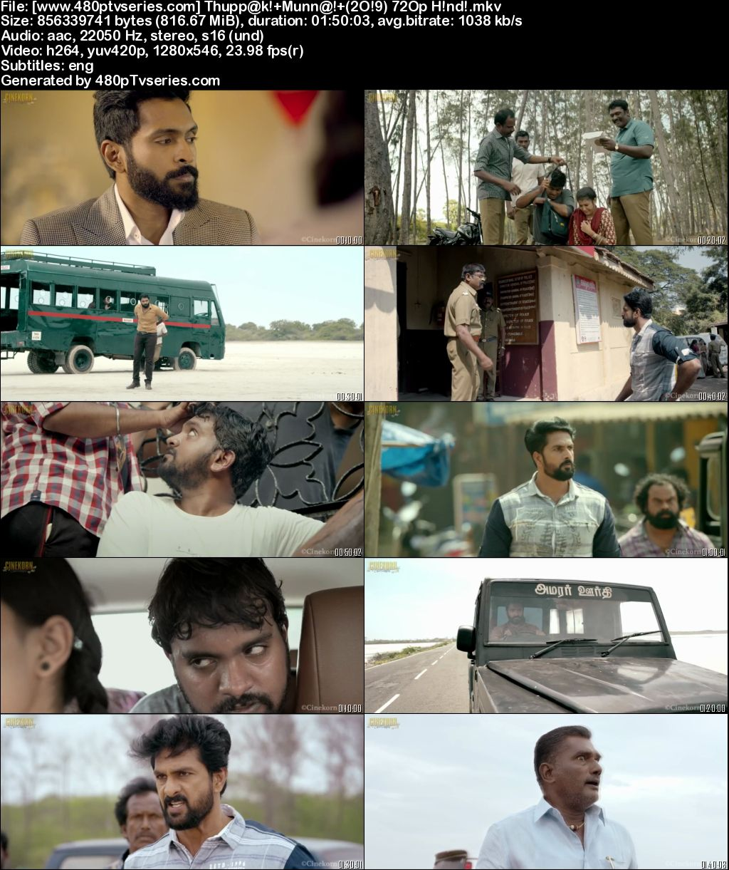 Thuppaki Munai (2019) Full Hindi Dubbed Movie Download 480p 720p HDRip Free Watch Online Full Movie Download Worldfree4u 9xmovies