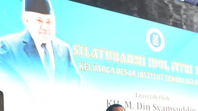 Rektor ITB AD: Rasanya Din Syamsuddin Tidak Seperti Yang Dituduhkan