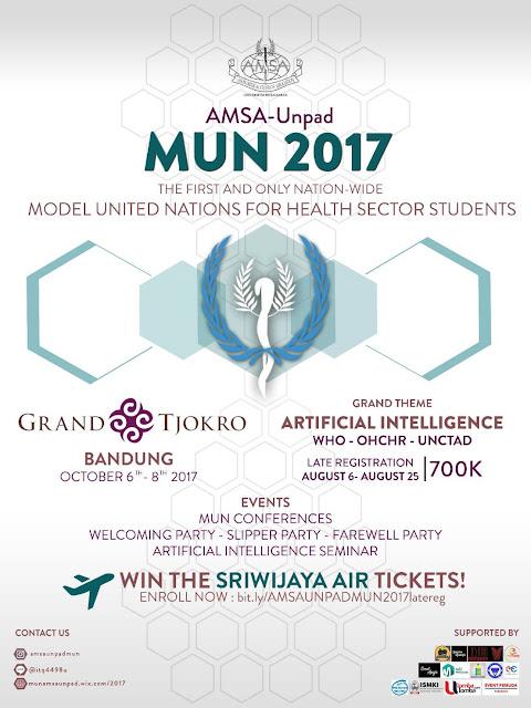 Amsa UNPAD MUN 2017 | Univ. Padjajaran | Mahasiswa
