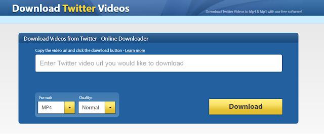 كيف تقوم بتحميل مقاطع الفيديو من توتير بطريقة سهلة بدون برامج