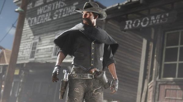 هدية حصرية متوفرة الآن للاعبين على جهاز PS4 داخل لعبة Red Dead Redemption 2 !