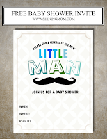 free boy baby shower invitations