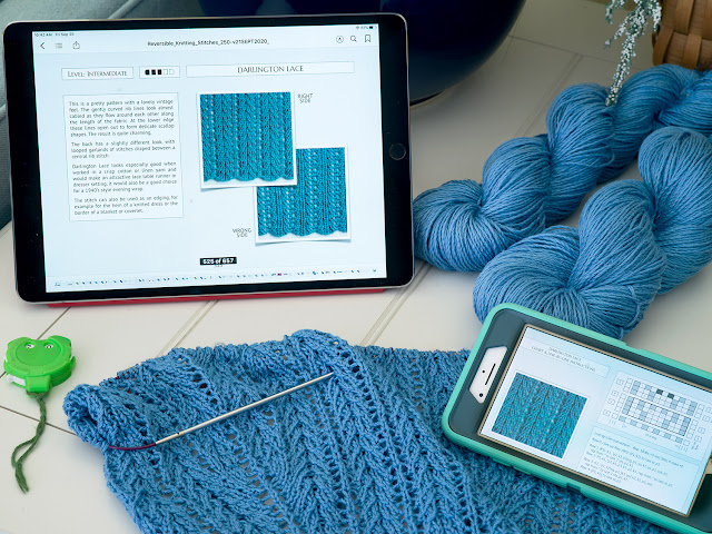 Reversible Knitting Stitches by Moira Ravenscroft & Anna Ravenscroft, Wyndlestraw Designs