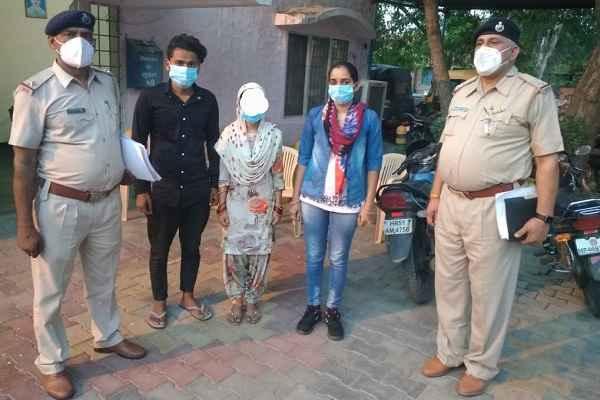 police-chowki-sector-7-faridabad-arrested-accused-sonu