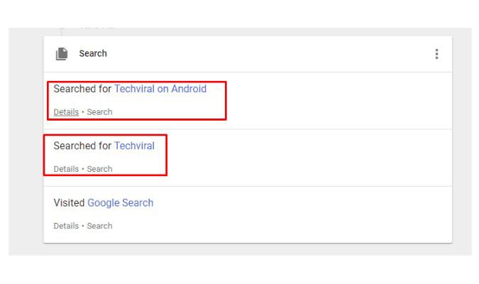 Pulihkan Riwayat Penelusuran yang Sudah Terhapus - Google My Activity